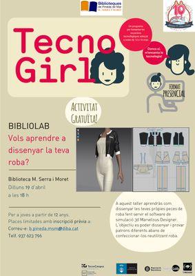 biblioLab [TecnoGirl] Vols aprendre a dissenyar la teva roba?
