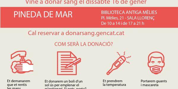 Campanya donació de sang