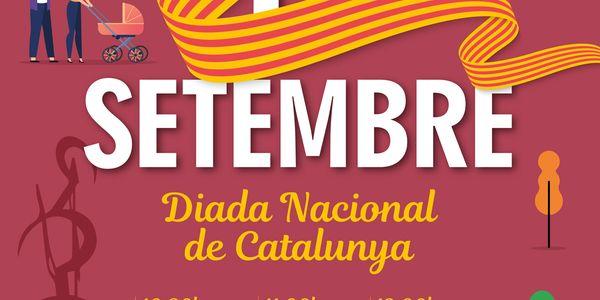 Diada Nacional de Catalunya a Pineda de Mar