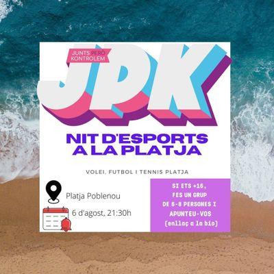 """JPK  """"Esports a la Platja"""""""