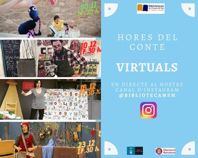 L'hora del conte virtual (instagram)