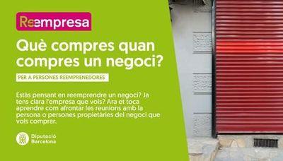 Sessió en línia amb Reempresa: què compres quan compres una empresa?