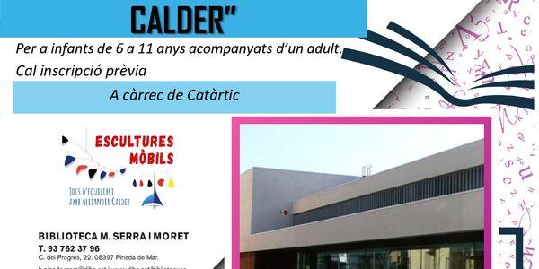Taller creatiu: Escultures mòbils, jocs d'equilibri amb Alexander Calder, a càrrec de Catàrtic