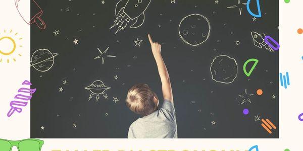 Taller d'astronomia infantil