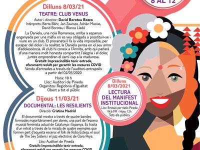 Dia Internacional de les Dones a Pineda de Mar