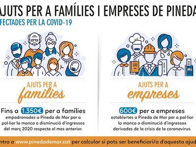 El Ple Municipal de Pineda aprova les ajudes per a famílies i empreses que es podran sol·licitar a partir de demà