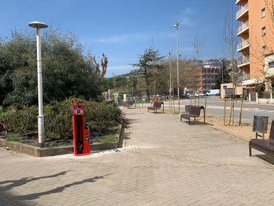 Els carrers de Pineda de Mar ja disposen de dos estacions de reparació de bicicletes