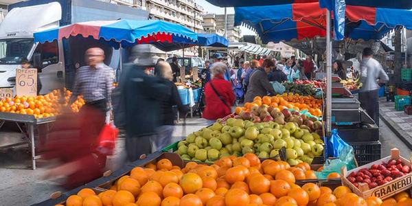 Els mercats de Pineda de Mar recuperen totes les parades amb l'entrada a la fase 3