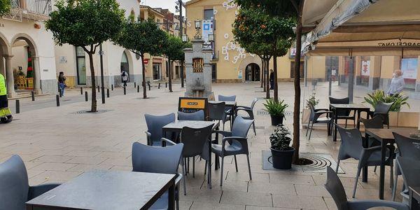 L'Ajuntament de Pineda de Mar aplicarà el retorn del 75% de la taxa d'ocupació de via pública (terrasses)