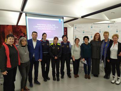 L'Ajuntament de Pineda de Mar presenta el Protocol Local per l'abordatge integral de la violència masclista