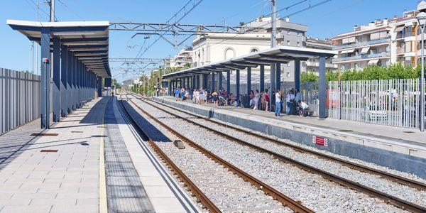 L'ajuntament de Pineda i Renfe reforcen conjuntament la seguretat de l'estació de tren