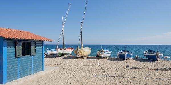 La platja dels Pescadors de Pineda de Mar recupera la Bandera Blava