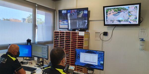 La segona fase de càmeres de vigilància de Pineda inclourà càmeres lectores de matrícules