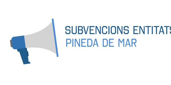 Obert el termini de les subvencions a les entitats de Pineda de Mar