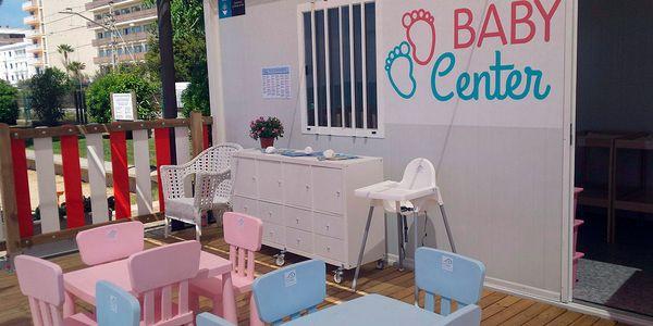 Obren el Baby Center i el Mini Beach Club, els espais infantils per a nadons i nens i nenes de fins a 12 anys a la platja dels Pescadors