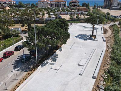 Pineda de Mar inaugura el nou Skatepark amb una jornada amb classes, Jam Sessions i una exhibició d'skateboard de Danny León