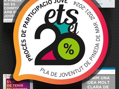Procés de participació jove per a l'elaboració del Pla de Joventut de Pineda 2021-2024