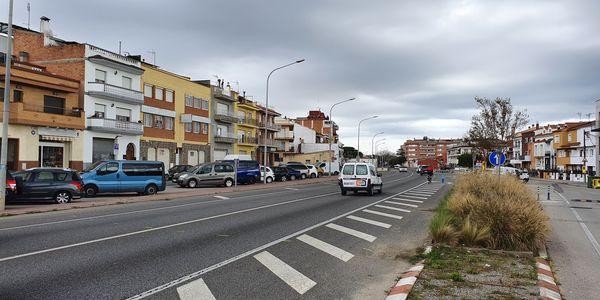 S'inicien les obres del nou giratori del barri de les Creus a la carretera Nacional