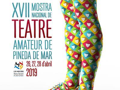 S'obre el concurs del cartell de la  XVIII Mostra Nacional de Teatre Amateur de Pineda de Mar
