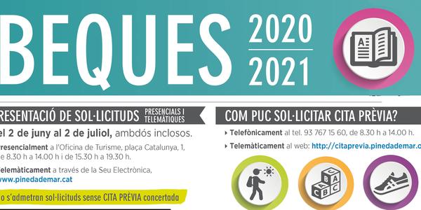 Beques d'ensenyament i d'esport  de l'Ajuntament de Pineda de Mar