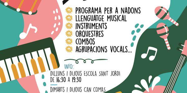 Inscripcions obertes a l'Escola Municipal de Música de Pineda de Mar