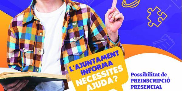 L'Ajuntament de Pineda t'ajuda amb la preinscripció escolar