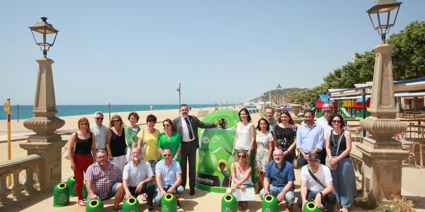 Pineda incrementa un 17% la recollida de vidre i se situa entre els sis primers municipis de Catalunya